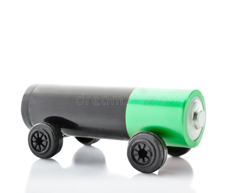 Concepto del coche eléctrico imágenes de archivo libres de regalías