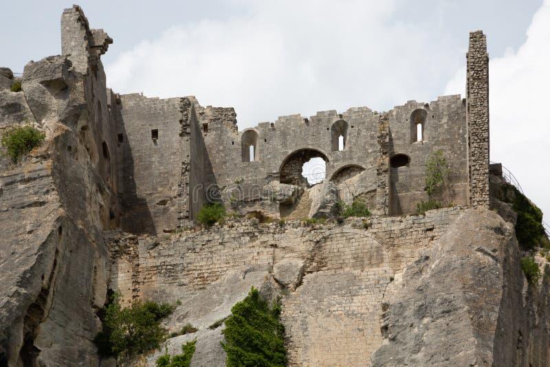 La Baux-De-Provence - l'Alpilles - la Provence - France photographie stock