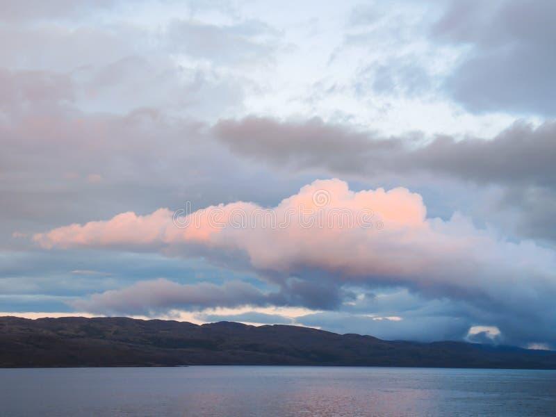 La beauté de l'été du nord dans la toundra photographie stock libre de droits