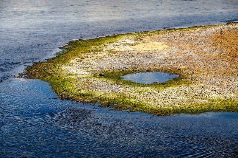 La beauté de la nature dans le fleuve photographie stock libre de droits