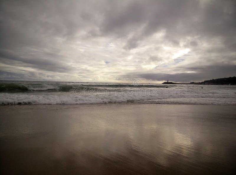 La beauté de la plage photographie stock