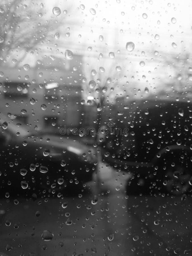 La beauté de la pluie photo libre de droits