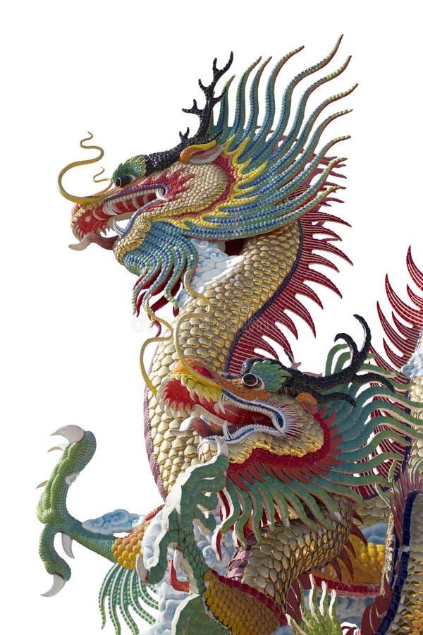 La beauté de la province, ville allume le stu de dragon image libre de droits