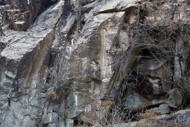 La beauté de la pierre naturelle photographie stock libre de droits