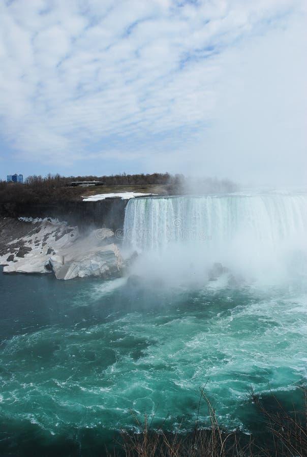 La beauté des chutes du Niagara images stock