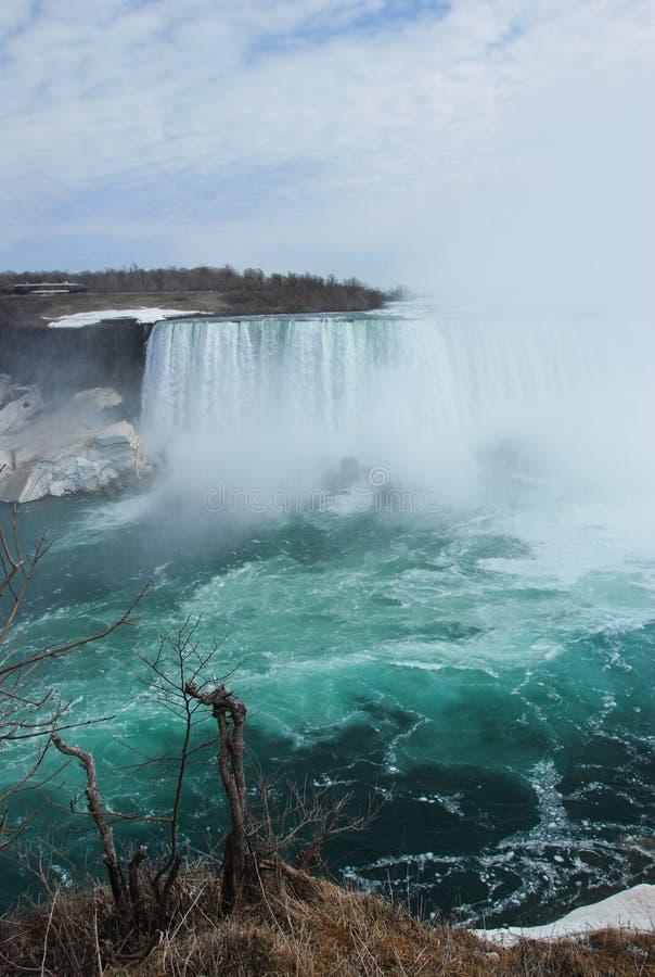 La beauté des chutes du Niagara photos stock