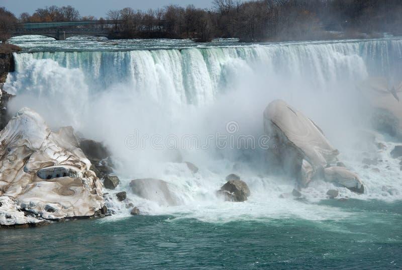 La beauté des chutes du Niagara photos libres de droits
