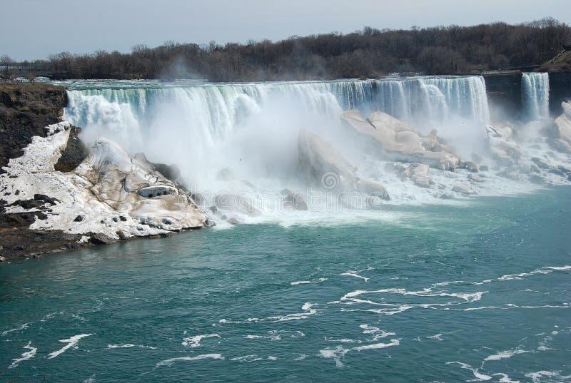 La beauté des chutes du Niagara photographie stock