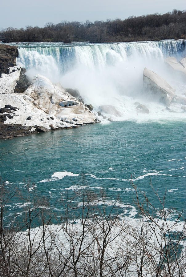 La beauté des chutes du Niagara image stock