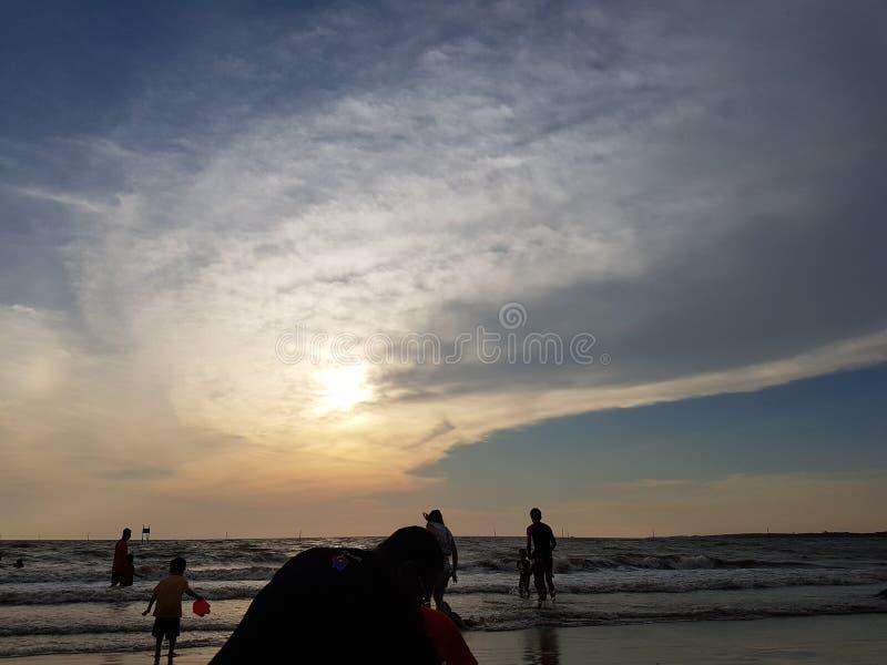 La beauté du coucher du soleil photos libres de droits