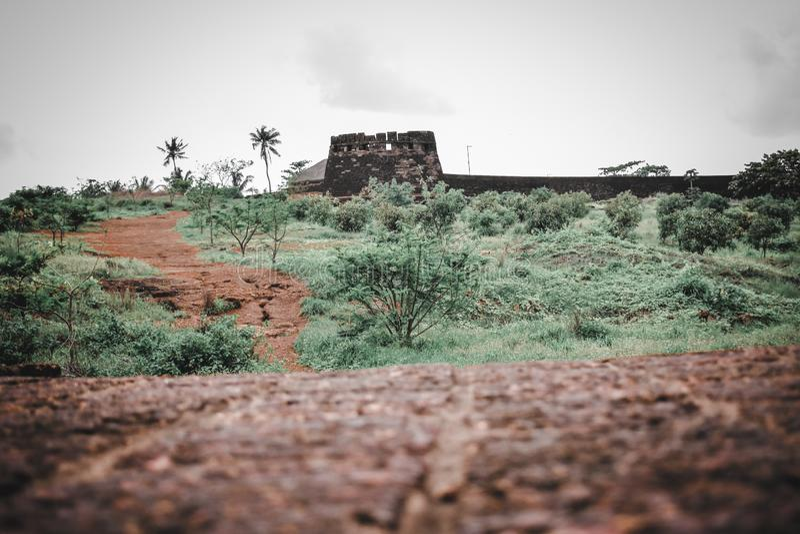 La beauté du fort bekal photographie stock