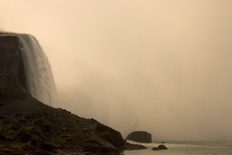 La beauté incroyable de Niagara Falls images stock