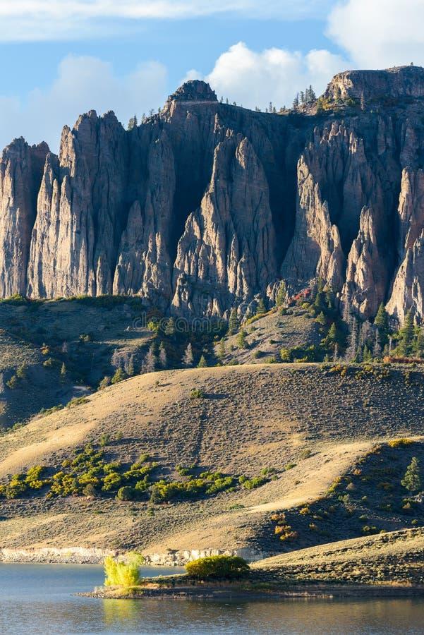 La beauté naturelle du Colorado Rocky Mountains - Mesa At bleu image libre de droits