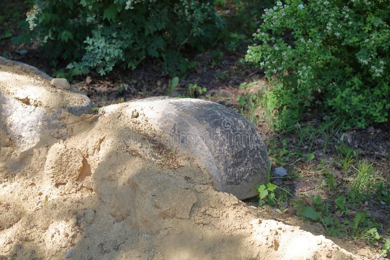 La beaut? de la pierre naturelle photo libre de droits