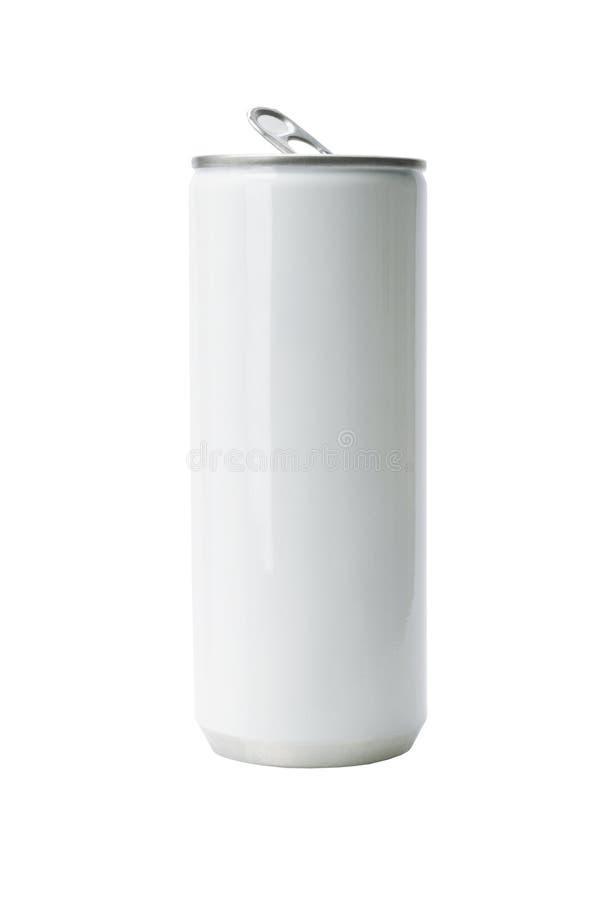 La bebida de aluminio puede foto de archivo