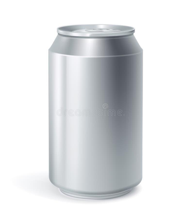 La bebida puede ilustración del vector