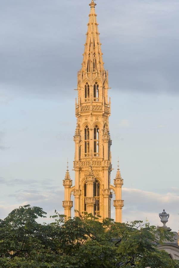 La Belgique, Bruxelles, Grand Place hôtel de ville ` s de ville photo libre de droits
