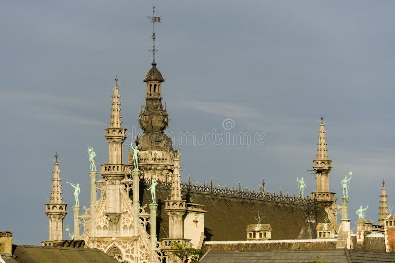 La Belgique, Bruxelles, Grand Place le Breadhouse image stock