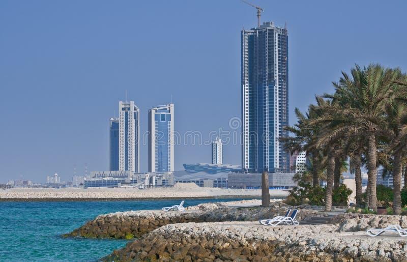 La bella Bahrain immagine stock