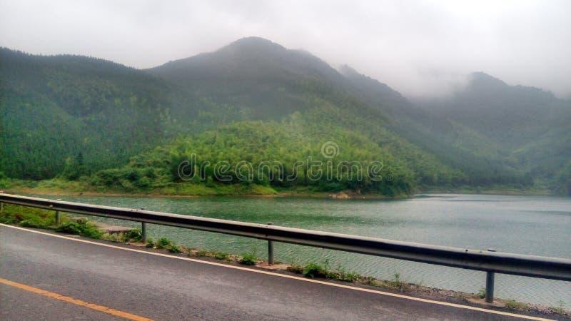 La bella barra naturale dell'ossigeno a GUILIN, CINA, ASIA immagini stock libere da diritti