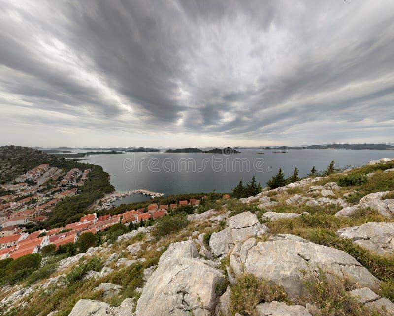 La bella Croazia fotografia stock