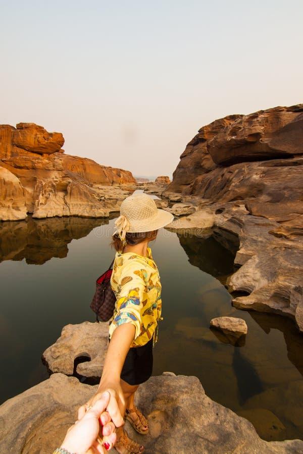 La bella immagine di Sam Phan Bok fotografia stock libera da diritti