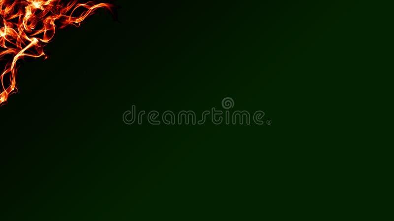 La bella onda astratta allinea sui precedenti scuri di pendenza illustrazione vettoriale
