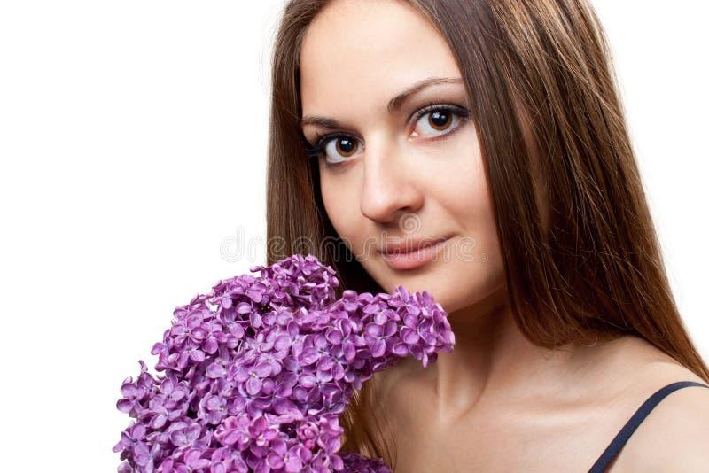 La bella ragazza fotografia stock libera da diritti