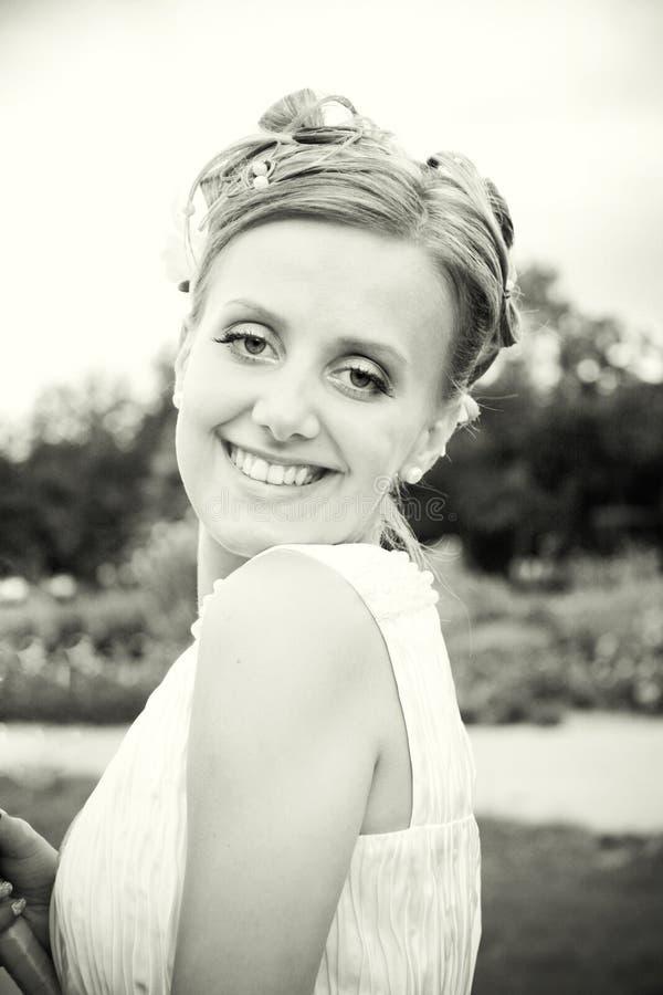 La bella sposa fotografia stock libera da diritti