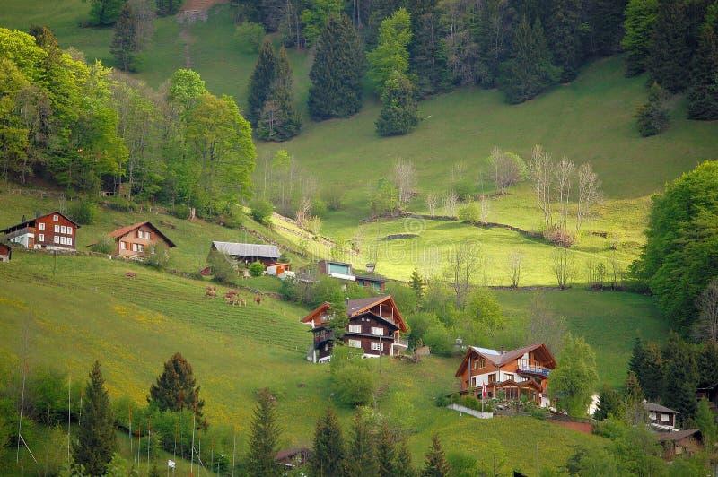 La bella Svizzera fotografie stock libere da diritti