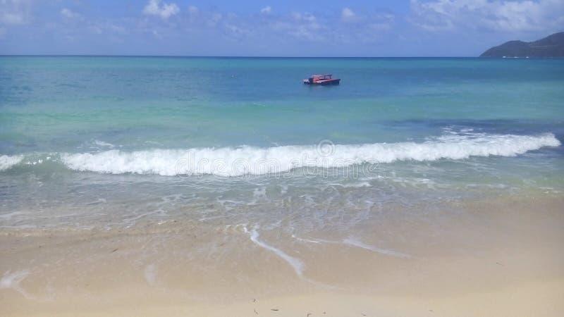 La belle île du Saint-Vincent-et-les Grenadines images stock