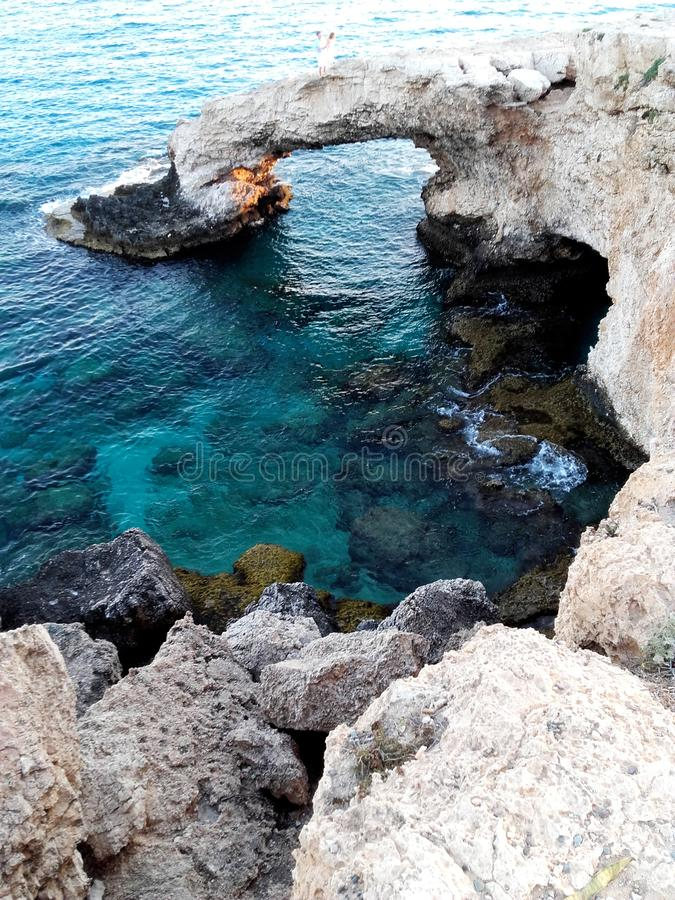 La belle Chypre photo stock