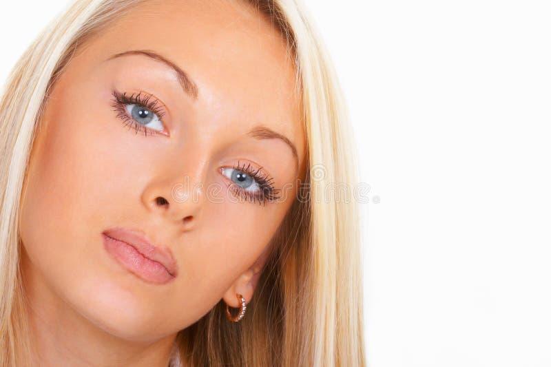 La belle fille images libres de droits