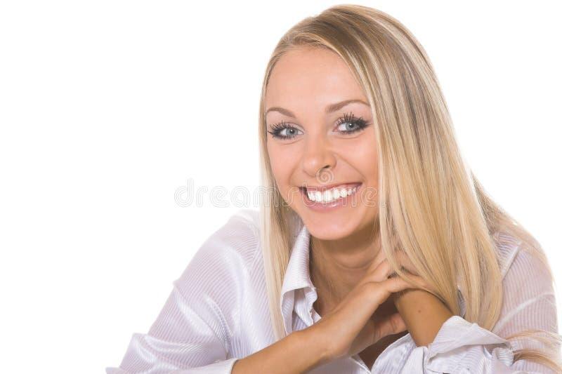 La belle fille photo stock