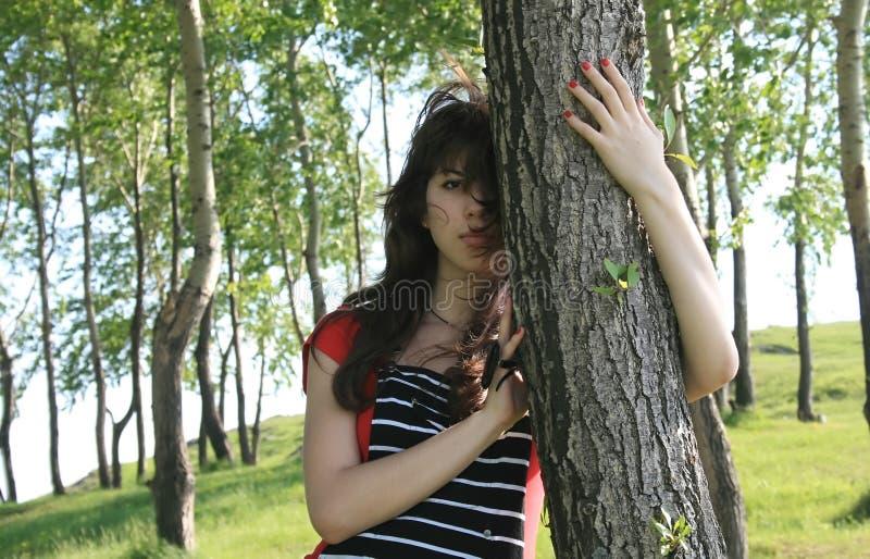 La belle fille. image libre de droits