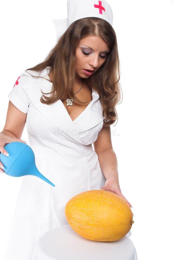 La belle infirmière photos libres de droits