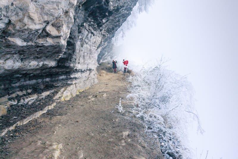 La belle neige de San Tanggai image libre de droits
