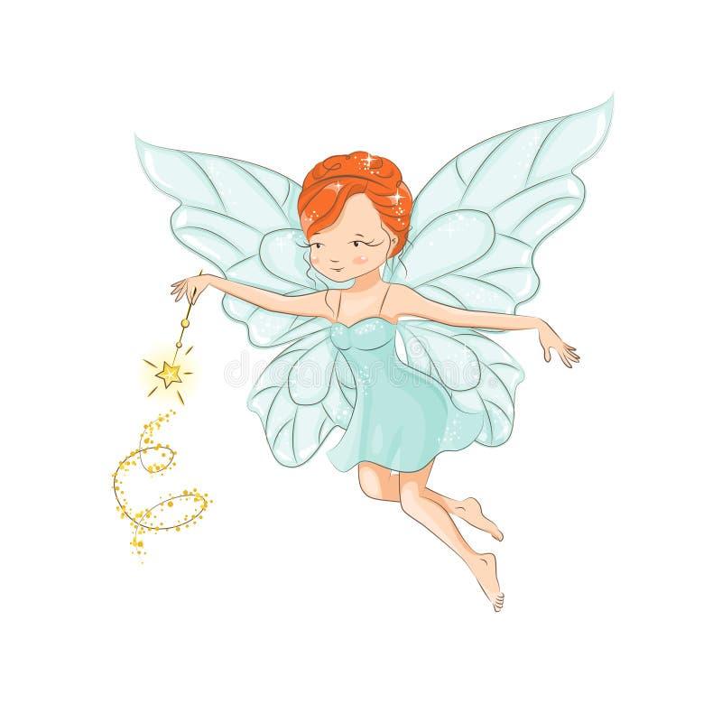 La belle petite fée illustration stock
