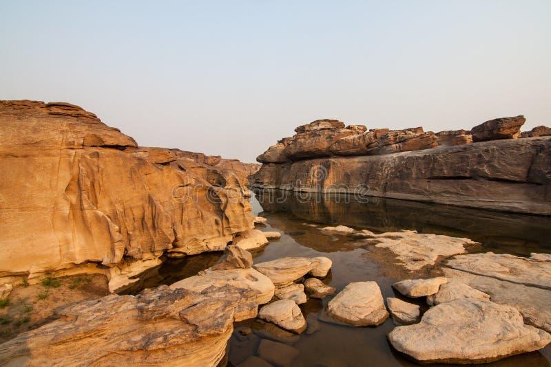 La belle photo de Sam Phan Bok photographie stock