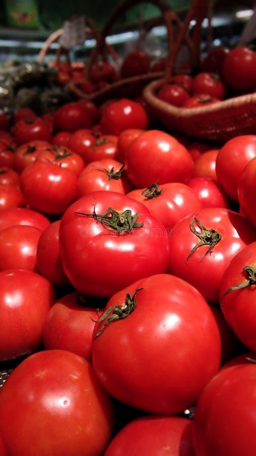 La belle tomate fraîche, semble nourriture délicieuse et healty image libre de droits