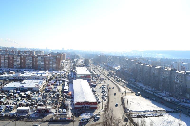 La belle ville Penza photo stock
