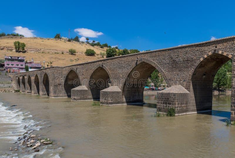 La belleza asombrosa de Dyarbakir, Turquía fotografía de archivo