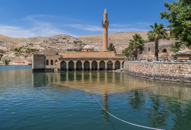 La belleza asombrosa de Halfeti, Turquía foto de archivo