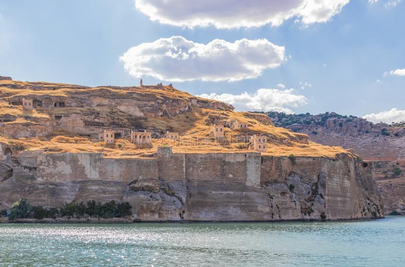 La belleza asombrosa de Halfeti, Turquía imagen de archivo libre de regalías