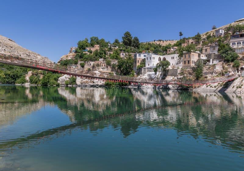 La belleza asombrosa de Halfeti, Turquía fotografía de archivo libre de regalías