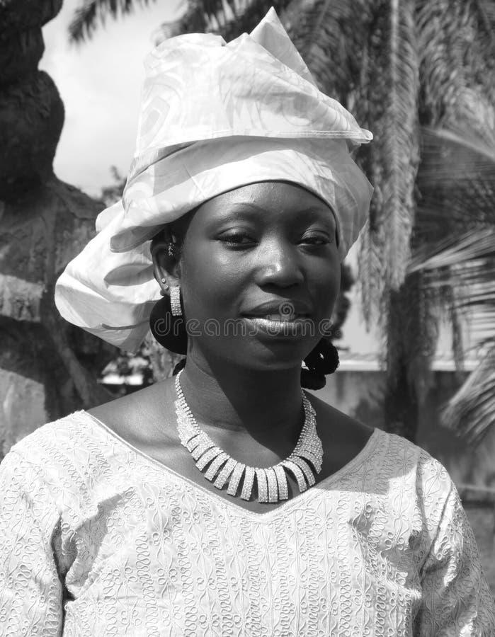 LA BELLEZA DE LA MUJER AFRICANA fotos de archivo