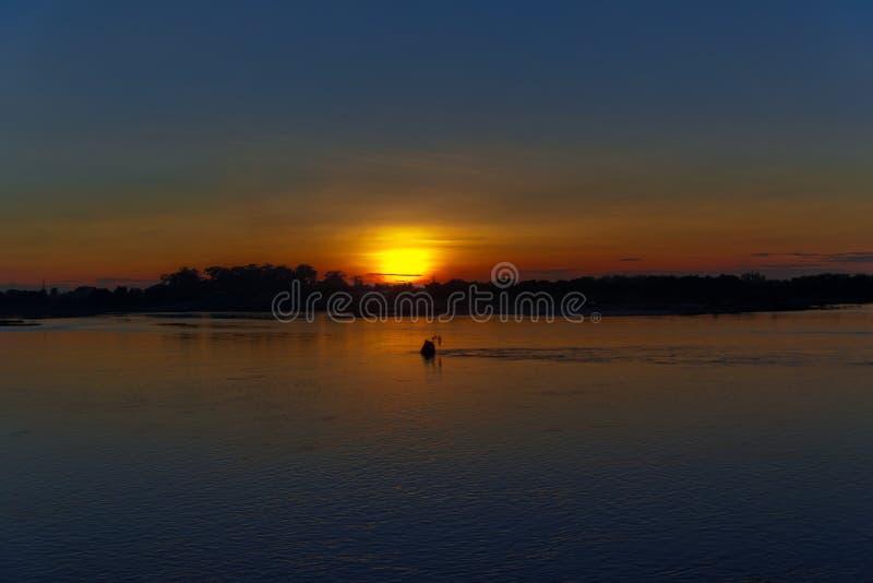 La belleza de la puesta del sol fotos de archivo libres de regalías