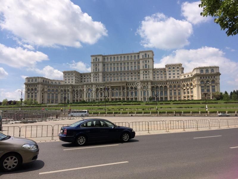 La bellezza della città della Romania, Bucarest immagine stock