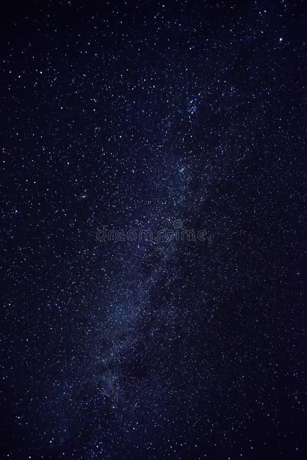 La bellezza della galassia Stars il cielo notturno immagini stock libere da diritti