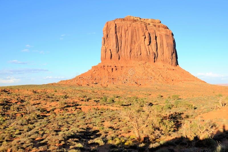 La bellezza della valle del monumento immagine stock